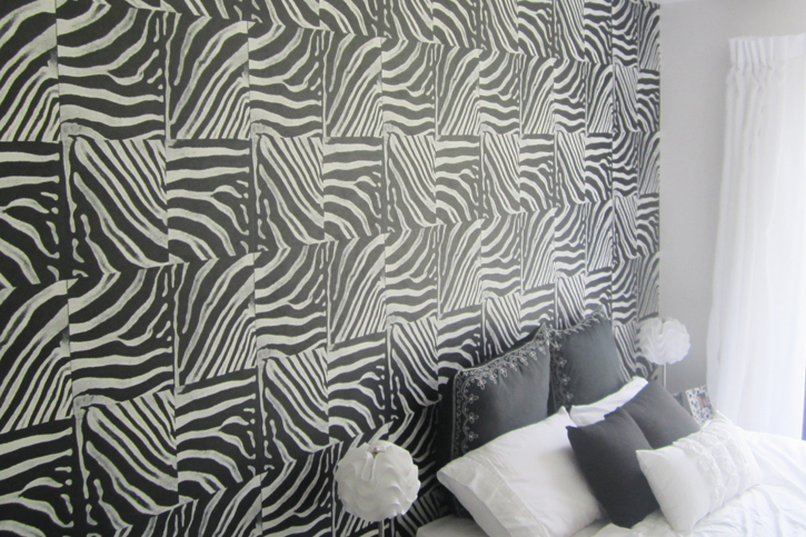 Wall Covering - Zebra Pattern